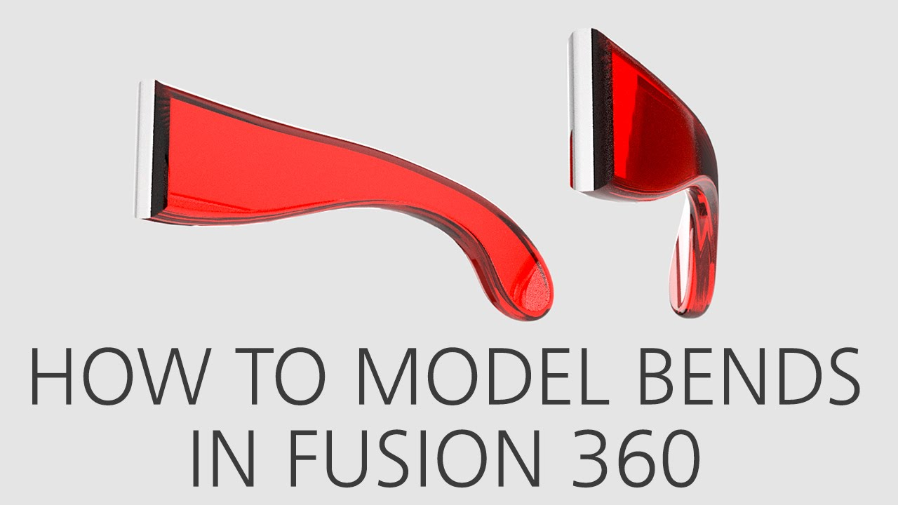How to model bends in Fusion 360