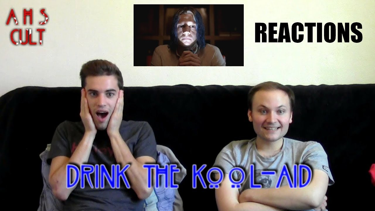 """Download American Horror Story : Cult 7x09 """"Drink the Kool-Aid"""" REACTIONS"""