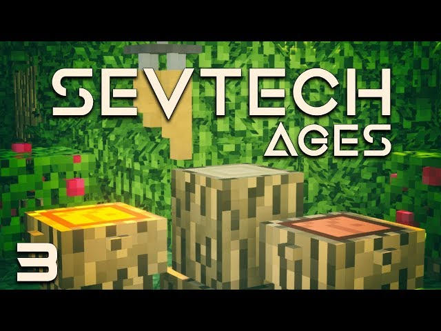 SevTech: Ages EP3 Buffalo Ceremony + Trading For Antique Atlas