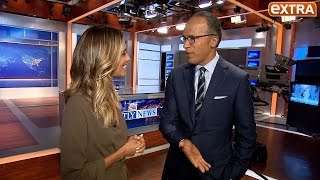 Lester Holt on Taking over 'NBC Nightly News,' and His Talk with Brian Williams