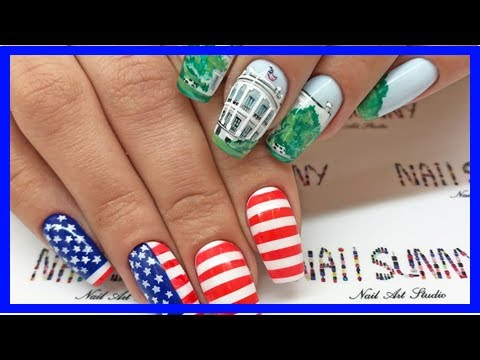 This Russian Nail Salon Designs Donald Trump Manicures