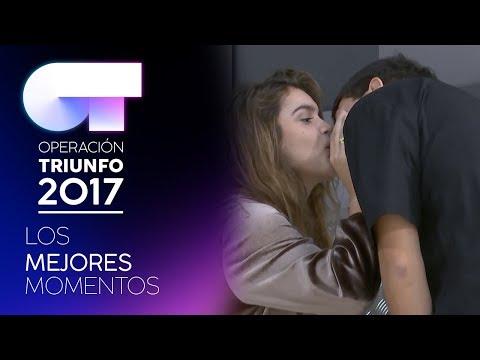 Amaia y Alfred se besan | LOS MEJORES MOMENTOS | OT 2017