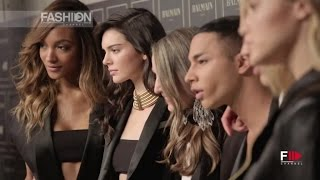 BALMAIN For H&M in Store on Nov. 5 - Fashion Show Event Highlights by Fashion Channel