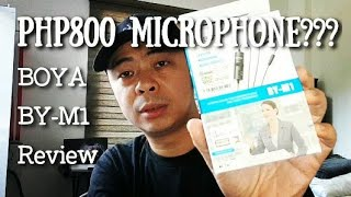 Php800 Microphone For Your Phone | Boya BY-M1 Review Comparison Video