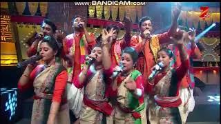 শাল তলে বেলা ডুবিল । sal tale bela dubilo performed by Nrityam Gosti ( Sa re ga na pa 2016 )