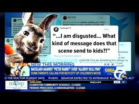Boycott Against Peter Rabbit Movie