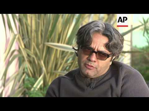 Banned Iranian filmmaker Mohammad Rasoulof in Cannes for a screening of his latest film