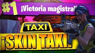WIN with SKIN TAXISTA in FORTNITE!! || Fortnite JonnyRex549