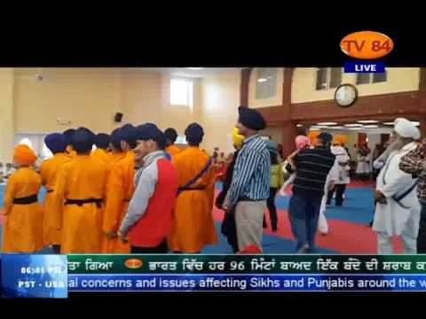 Maidan - E - Jung (2016) | Gatka Competition | NJ on 28 May, 2016 - Ranjit Singh (Sikh Activist)