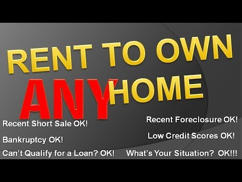 Rent to Own Homes is Back