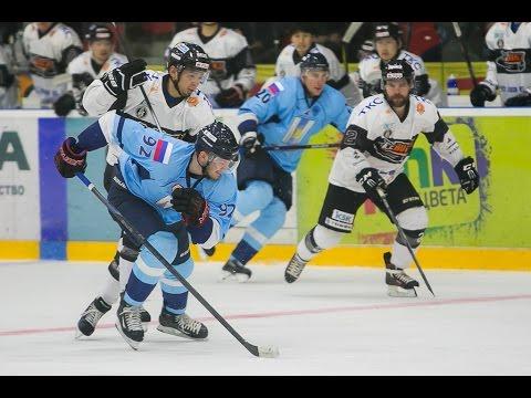 Highlight. PSC Sakhalin - Nikko IceBucks 2:1 OT. First game