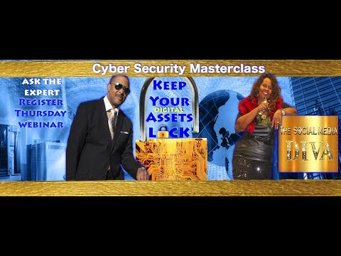 "SECURITY EXPERT TALKS ABOUT PROTECTING YOUR BIZ - ""KEEP YOUR DIGITAL ASSETS ON LOCK"""