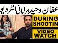 Affan Waheed Hira Mani Drama Ghalti Drama Set Live And Noorulain