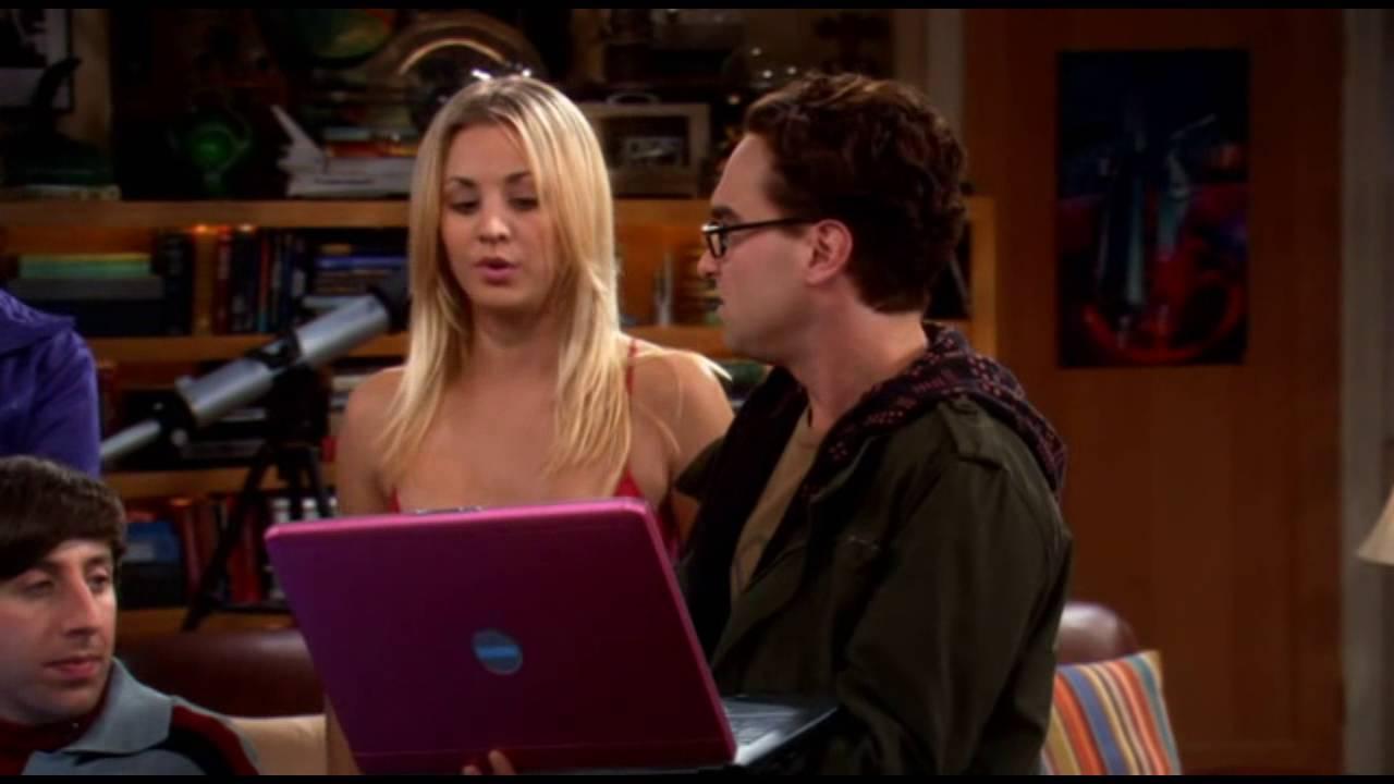 Penny i Leonard zaczynają randki