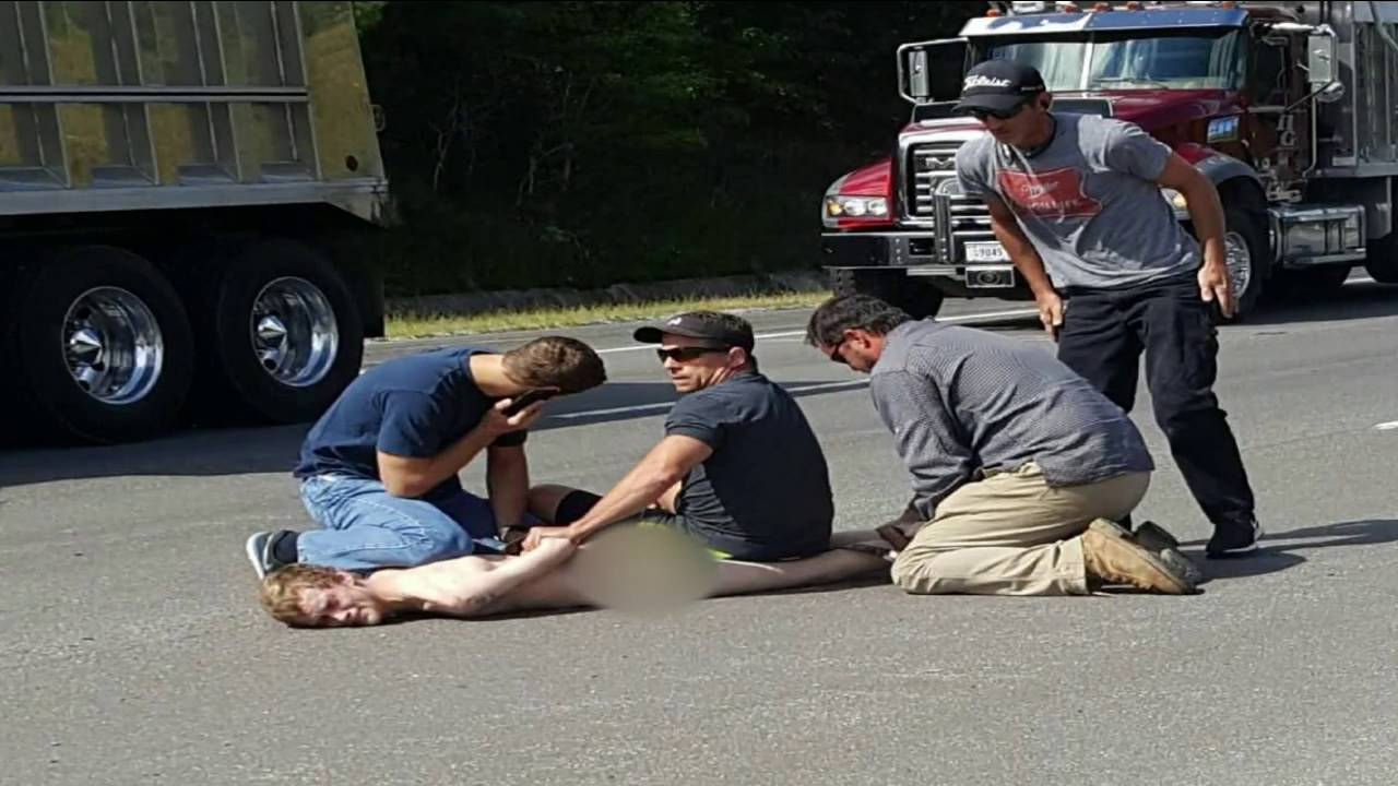 Naked Man Arrested After Officers Caught Him Doing Walk