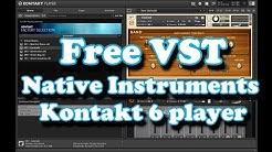 Free VST - NI Kontakt 6 Player (2019)