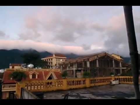 Sapa Town walk Vietnam (Sept 2009) Part 2
