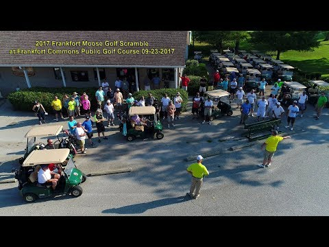 2017 Moose Golf Scramble at Frankfort Commons Public Golf Course