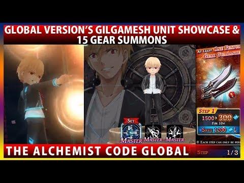 Global's Gilgamesh Unit Showcase - Fate Stay Night UBW Collaboration (The Alchemist Code)