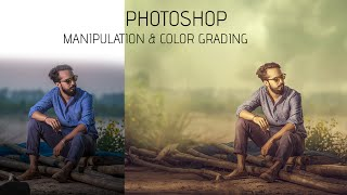 Photoshop Compositing & Manipulation | Smooth light Photo Effects
