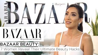 Baixar 7 Women Reveal Their Ultimate Beauty Hacks  | Bazaar Beauty  | Harper's Bazaar Arabia