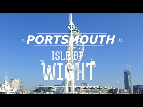 VLOG - Travelling to Portsmouth & Isle of Wight