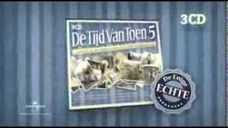 DE TIJD VAN TOEN 5 - 3CD - TV-Spot