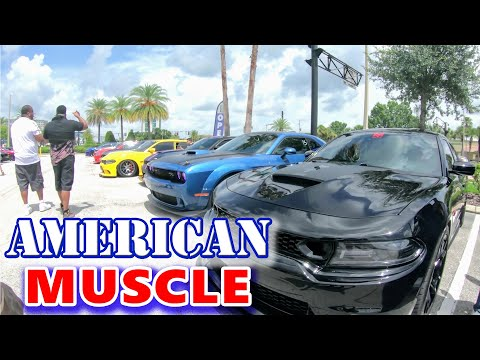 american-muscle-|-florida-largest-muscle-car-cruise-part-1