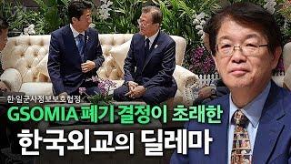 [이춘근의 국제정치 116회] ①🇰🇷🇯🇵GSOMIA 폐기 결정이 초래한 한국외교의 딜레마