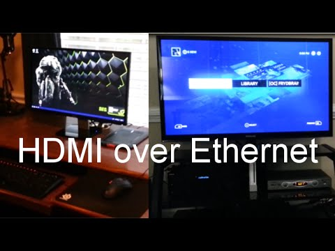 HDMI Over Ethernet - Gaming PC