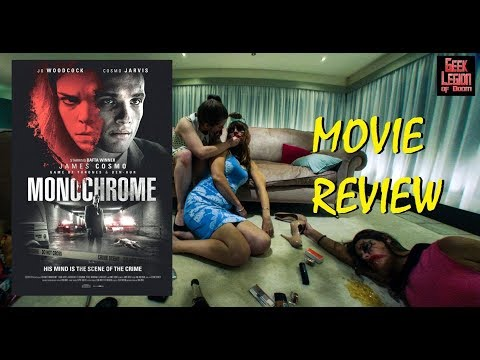 MONOCHROME ( 2016 James Cosmo ) aka SYNESETA . Psychological Thriller Movie Review
