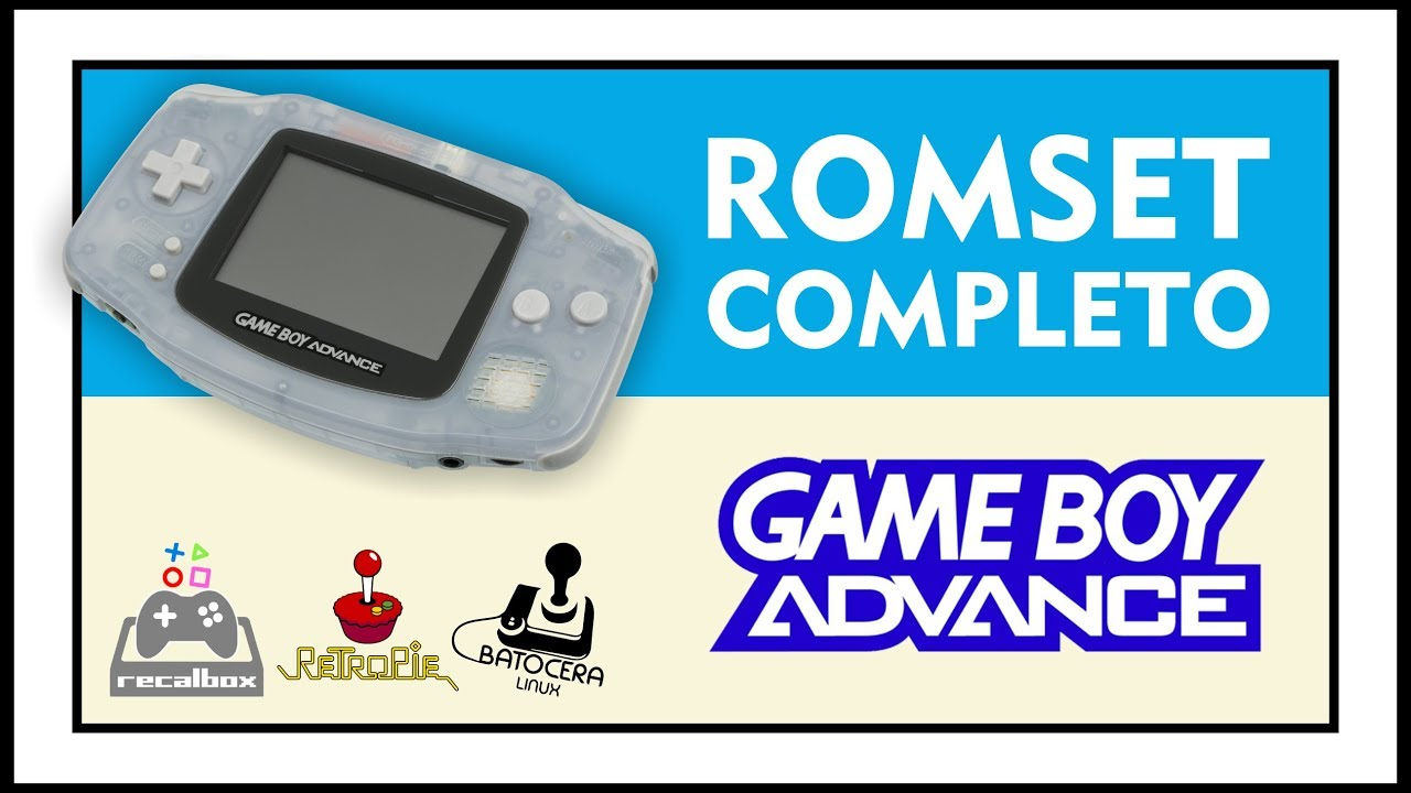 DOWNLOAD COMPLETE ROMSET GBA
