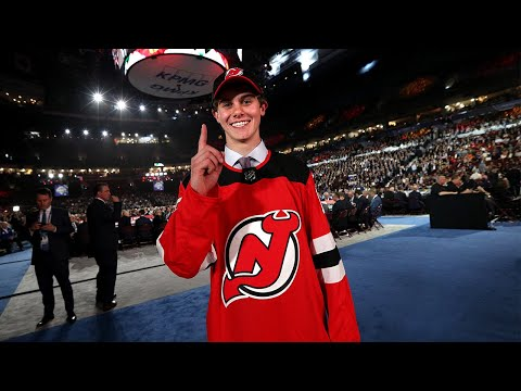 New Jersey Devils select Jack Hughes with the No. 1 pick in the 2019 NHL Draft