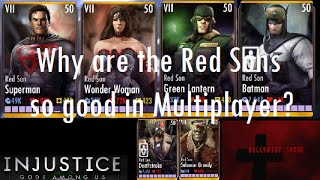 Injustice Gods Among Us iOS - Why are the Red Sons good in Multiplayer?