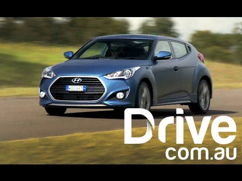 2015 Hyundai Veloster SR Turbo First Drive Review Drive.com.au