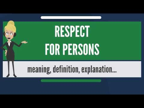 Nonliquidating definition of respect