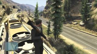 GTA V : 5 Star Train Shootout