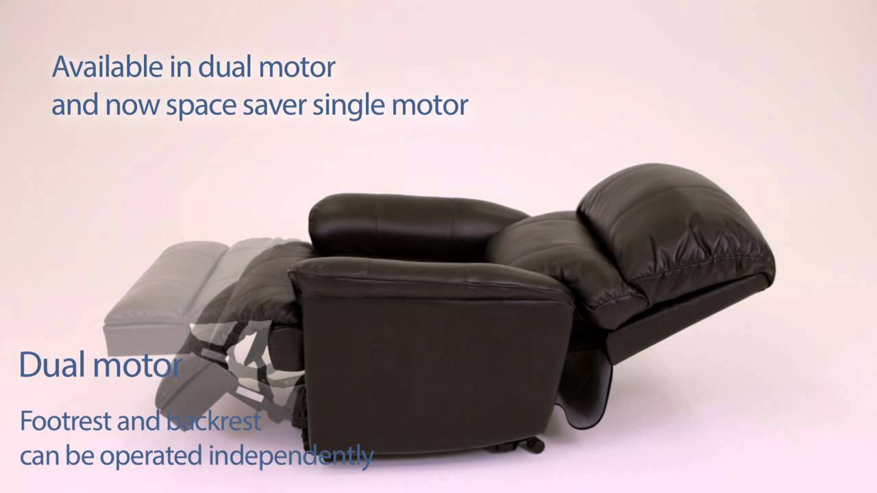 Exceptional Canterbury Leather Electric Rise And Recliner Chair   Fenetic Wellbeing    YouTube