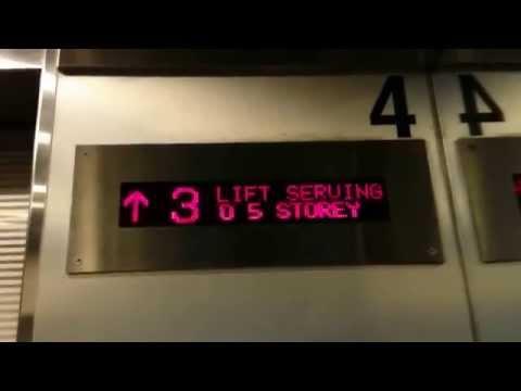 White Sands Shopping Centre - Otis Traction Elevator