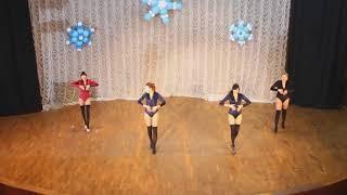 Strip Dance тренер Мила Пищида СТ Rakassa новогодний концерт 24.12.17