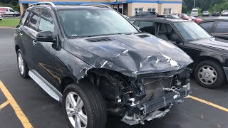 Mercedes Benz ML350 2015 Accident Repair Management Service