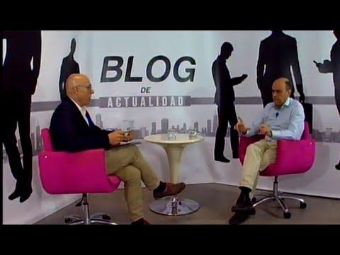 Programa BLOG de ACTUALIDAD, con Gabriel Echávarri, alcalde de Alicante