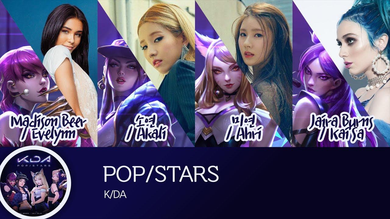 K Da Pop Stars Ft Madison Beer G I Dle Jaria Burns Lyrics