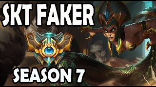 FAKER plays CASSIOPEIA vs A Korean CHALLENGER KASSADIN