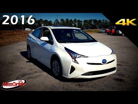 2016 2017 Toyota Prius Four  -  Ultimate In-Depth Look in 4K