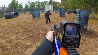 NERF WAR | FIRST PERSON SHOOTER!