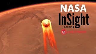 NASA Mars InSight Entry, Descent and Landing