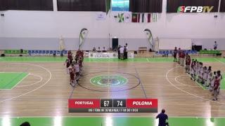 Torneio Internacional de Vila Real | Portugal - Polónia