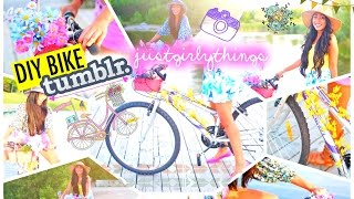 Diy Tumblr Bike   Justgirlythings