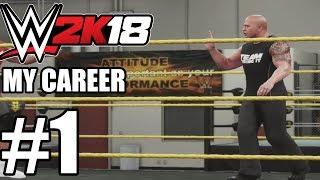 WWE 2K18 My Career Gameplay Walkthrough Part 1
